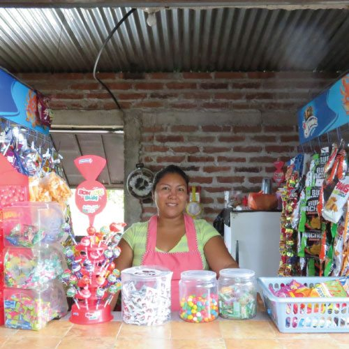 marisol is a microcredit client in el salvador
