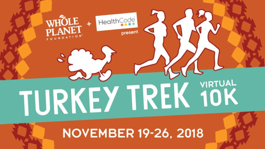 turkey trek virtual turkey trot 10k run