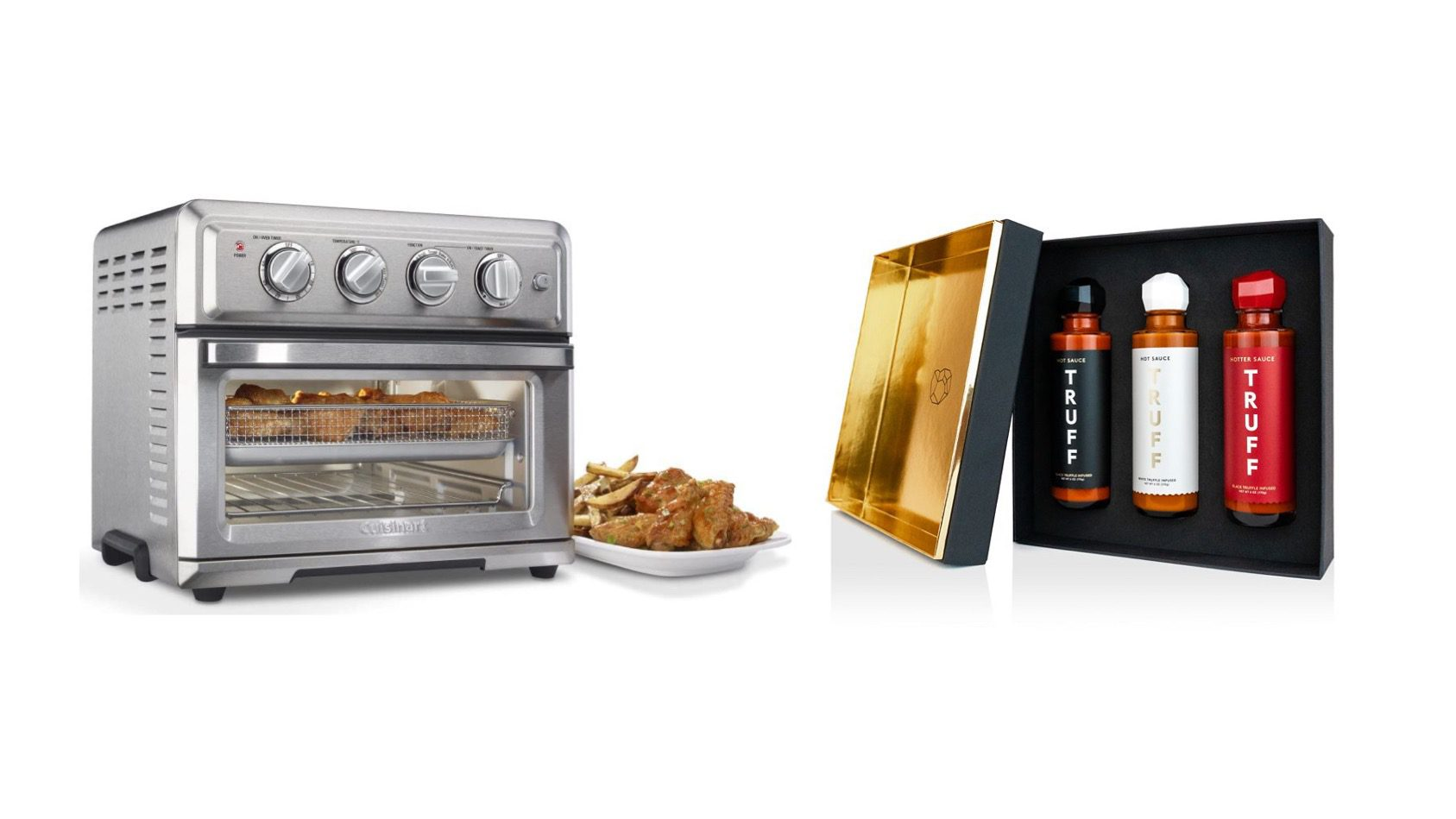 air fryer and truff sauce giveaway